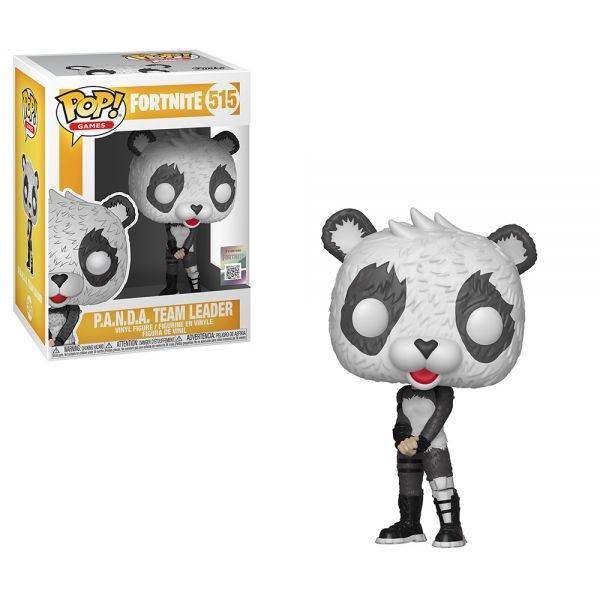 FUNKO POP! GAMES FORTNITE S3 ΦΙΓΟΥΡΑ ΒΙΝΥΛΙΟΥ P.A.N.D.A. TEAM LEADER