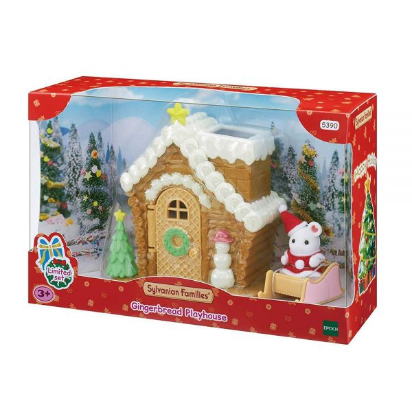 THE SYLVANIAN FAMILIES GINGERBREAD PLAYHOUSE