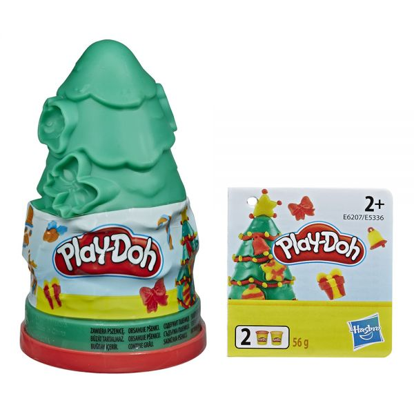 PLAY-DOH CHRISTMAS SEASONAL - 2 ΣΧΕΔΙΑ