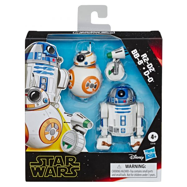 STAR WARS E9 FIGUER 3PACK