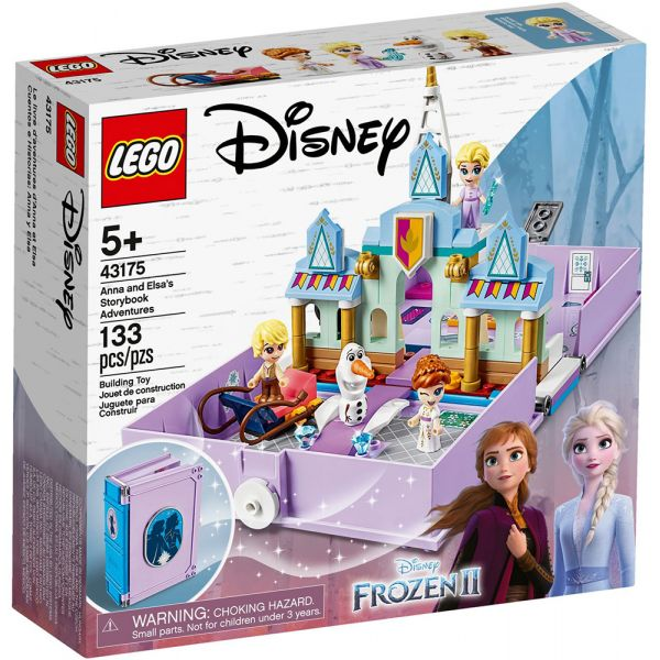 LEGO DISNEY PRINCESS ANNA AND ELSA\'S STORYBOOK ADVENTURES