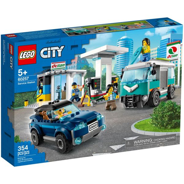 LEGO CITY NITRO WHEELS SERVICE STATION