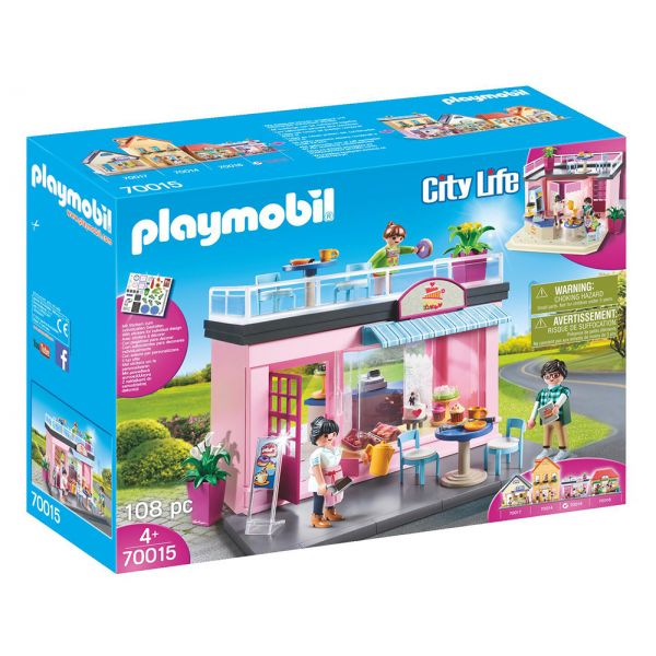 PLAYMOBIL CITY LIFE TOWN MY PRETTY PLAY-CAFE