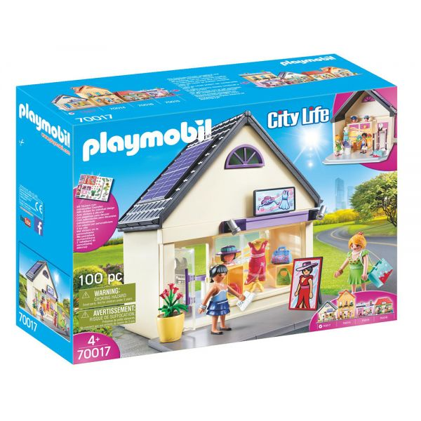 PLAYMOBIL CITY LIFE TOWN MY PRETTY PLAY-FASHION BOUTIQUE
