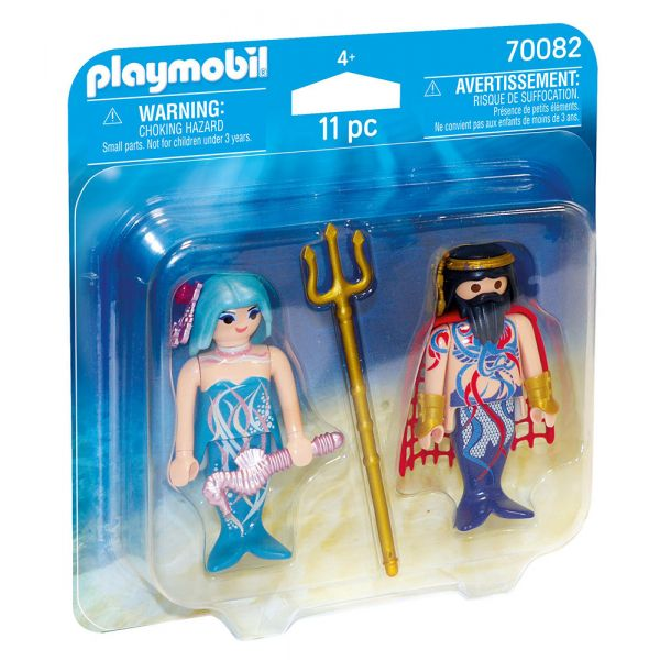 PLAYMOBIL MAGIC - DUO PACK ΒΑΣΙΛΙΑΣ ΤΗΣ ΘΑΛΑΣΣΑΣ ΚΑΙ ΓΟΡΓΟΝΑ