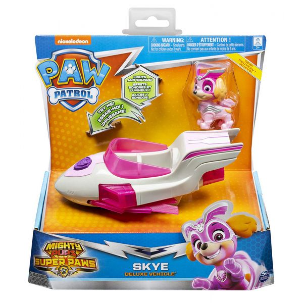 PAW PATROL MIGHTY PUPS ΟΧΗΜΑΤΑ ΠΕΡΙΠΕΤΕΙΑΣ DELUXE