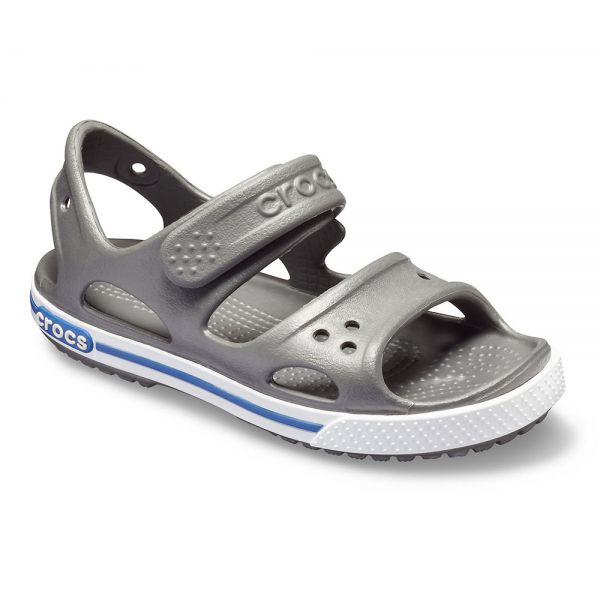 CROCS CROCBAND II SANDAL PS SLATE GREY-BLUE JEAN