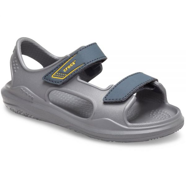 CROCS SWIFTWATER EXPEDITION SANDAL K SLATE GREY-CHARCOAL