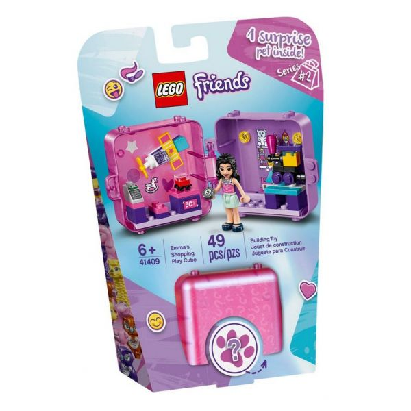 LEGO FRIENDS EMMA\'S SHOPPING PLAY CUBE