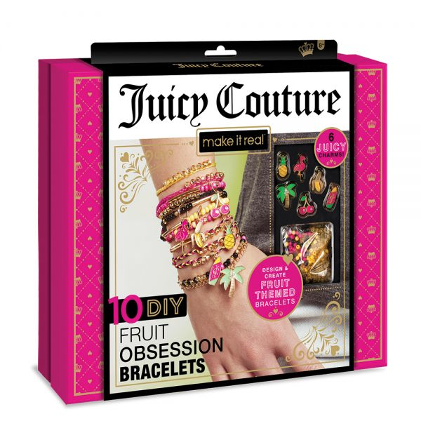 MAKE IT REAL - JUICY COUTURE 10 DIY FRUIT OBSESSIONS BRACHELETS