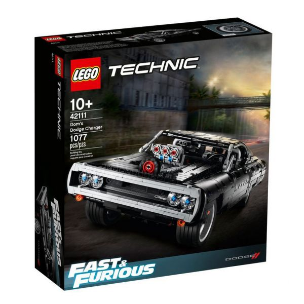 LEGO TECHNIC DOM\'S DODGE CHARGER