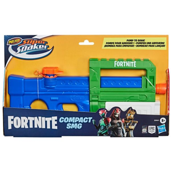 NERF SUPER SOAKER FORTNITE COMPACT SMG L