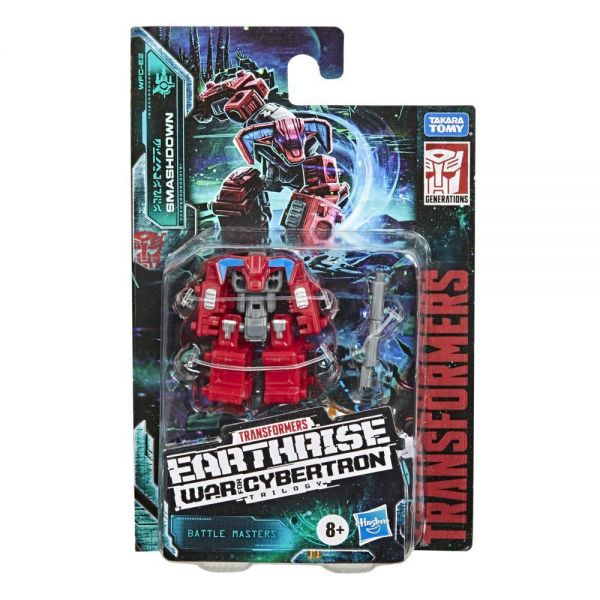TRANSFORMERS GENERATIONS WFC BATTLE MASTER - SMASHDOWN