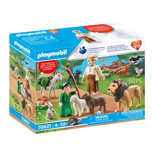 PLAYMOBIL HISTORY PLAY AND GIVE 2020 ΜΥΘΟΙ ΤΟΥ ΑΙΣΩΠΟΥ