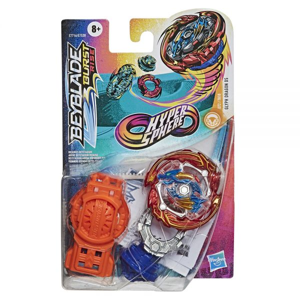 BEYBLADE HYPERSPHERE - GLYPH DRAGON D5