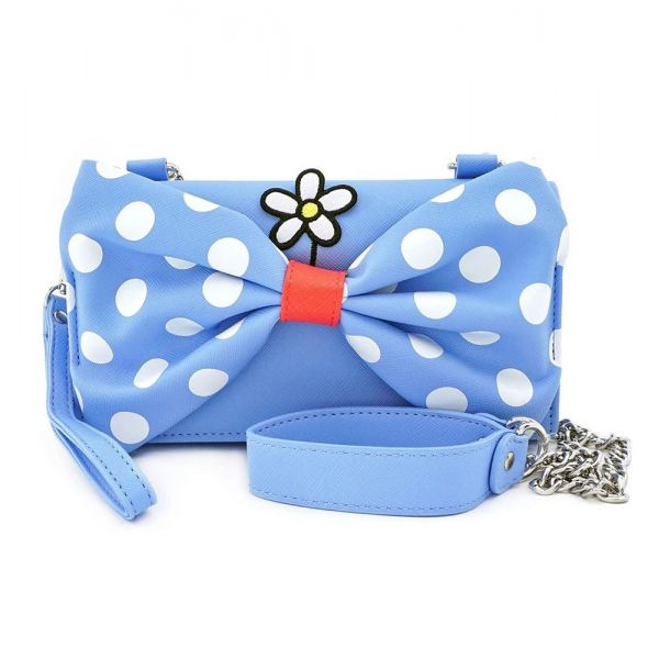 LOUNGEFLY MINNIE MOUSE POSITIVELY POLKA DOT ΤΑΧΥΔΡΟΜΙΚΟ ΤΣΑΝΤΑΚΙ CROSSBODY (WDTB1825)