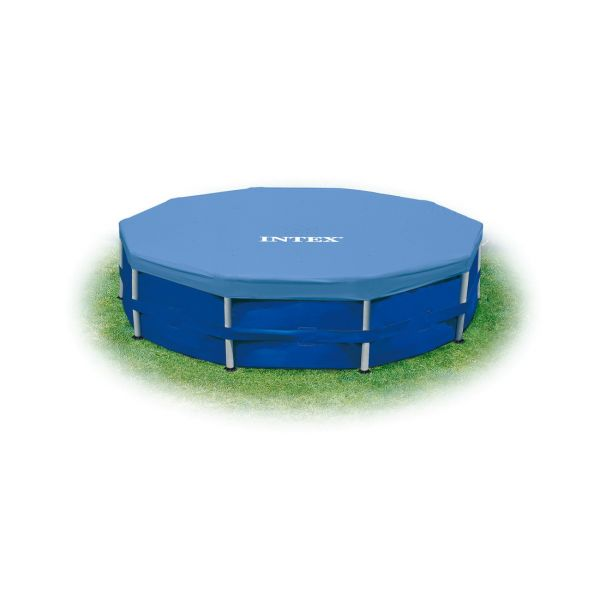 INTEX 58901 ΚΑΛΥΜΜΑ ΠΙΣΙΝΑΣ 15FTX10IN ROUND POOL COVER