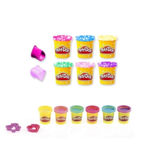 PLAY-DOH SPARKLE COMPOUND COLLECTION A5417