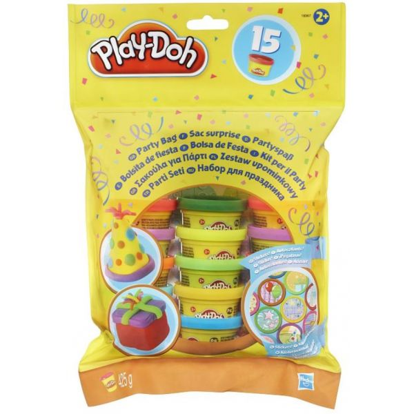 PLAY-DOH ΣΑΚΟΥΛΑΚΙ ΠΑΡΤΥ 15 ΒΑΖΑΚΙΑ