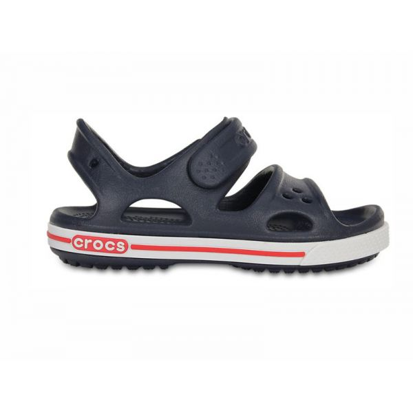 CROCS CROCBAND II SANDAL PS NAVY/WHITE