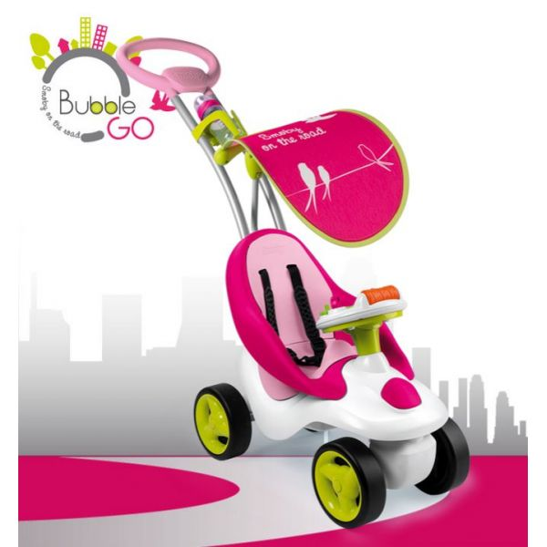 SMOBY ΠΟΔΟΚΙΝΗΤΟ BUBBLE GO GIRL RIDE-ON