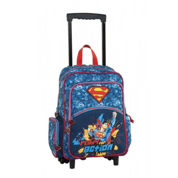 bbd5f24fe99 SUPERMAN READY FOR ACTION TROLLEY ΣΑΚΙΔΙΟ
