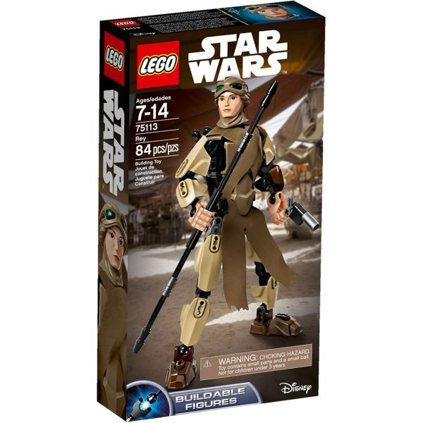LEGO STAR WARS BUIDABLE FIGURE REY