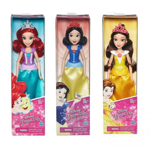 DISNEY PRINCESS BASIC FASHION DOLL
