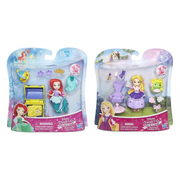 DISNEY PRINCESS SMALL DOLL & PLAY ACCESSORIES