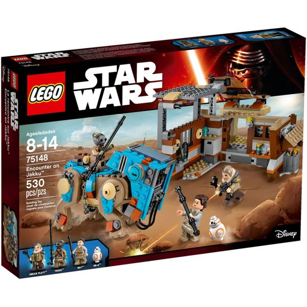 LEGO STAR WARS ENCOUTER ON JAKKU