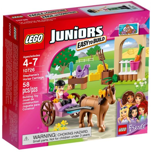 LEGO JUNIORS STEPHANIE\'S HORSE CARRIAGE
