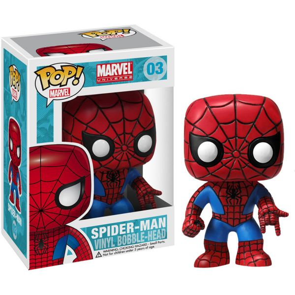 POP ΦΙΓΟΥΡΑ BOBBLE SPIDERMAN MARVEL
