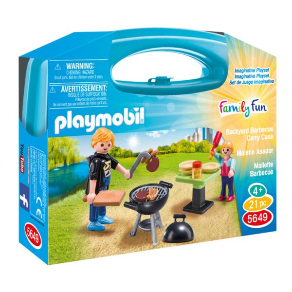 PLAYMOBIL FAMILY FUN ΒΑΛΙΤΣΑΚΙ BARBECUE