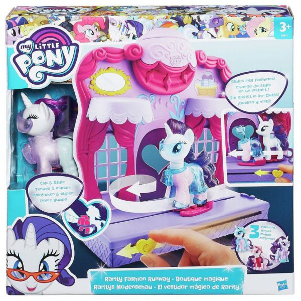 MY LITTLE PONY RARITY FASHION RUNAWAY