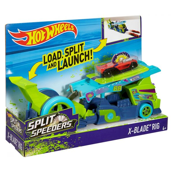 HOT WHEELS SPLIT SPEEDERS RIG VEHICLE