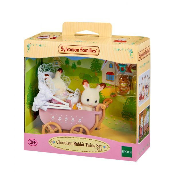 THE SYLVANIAN FAMILIES-ΛΑΓΟΥΔΑΚΙΑ ΜΩΡΑ ΣΕ ΚΑΡΟΤΣΙ