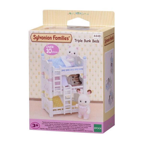 THE SYLVANIAN FAMILIES-ΤΡΙΩΡΟΦΟ ΚΡΕΒΒΑΤΙ ΜΕ ΣΚΑΛΕΣ
