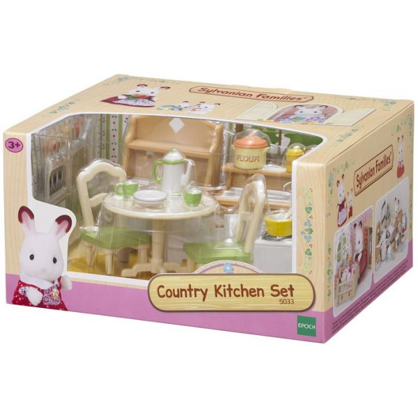 THE SYLVANIAN FAMILIES-ΚΟΥΖΙΝΑ ΜΕ ΤΡΑΠΕΖΑΡΙΑ