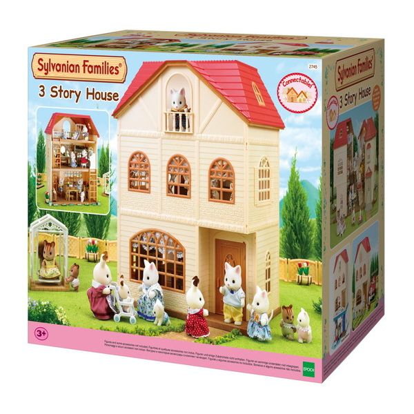 THE SYLVANIAN FAMILIES-ΣΠΙΤΑΚΙ ΤΡΙΩΡΟΦΟ