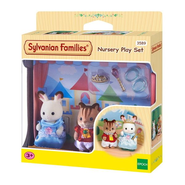 c9226a48d4d THE SYLVANIAN FAMILIES-ΠΑΙΔΑΚΙΑ ΝΗΠΙΟΥ ΜΕ ΑΞΕΣΟΥΑΡ