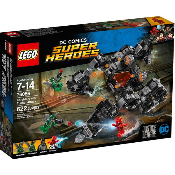LEGO SUPER HEROES KNIGHTCRAWLER TUNNEL ATTACK