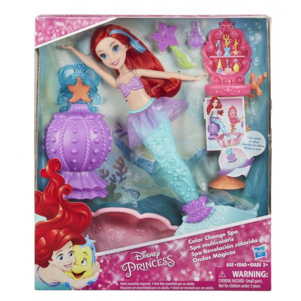 DISNEY PRINCESS ΚΟΥΚΛΑ ARIEL\'S COLOR CHANGE SPA