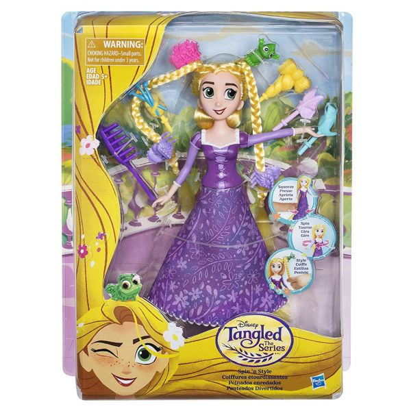 DISNEY PRINCESS ΚΟΥΚΛΑ TANGLED STORY FIGURE ACTION HAIR