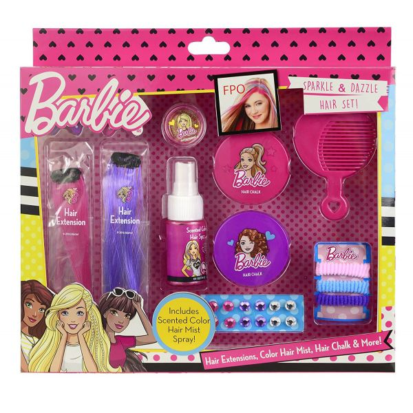 492e0fe796d MARKWINS INTERNATIONAL BARBIE SPARKLE & DAZZLE ΣΕΤ ΜΑΛΛΙΩΝ