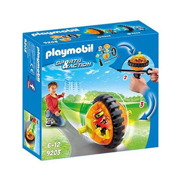 PLAYMOBIL SPORTS & ACTION SPEED ROLLER ΠΟΡΤΟΚΑΛΙ
