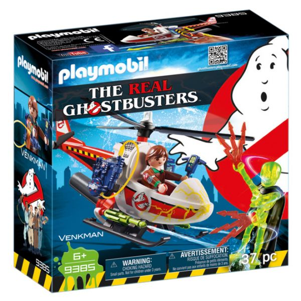 PLAYMOBIL GHOSTBUSTERS ΔΡ. ΒΕΝΚΜΑΝ ΜΕ ΕΛΙΚΟΠΤΕΡΟ