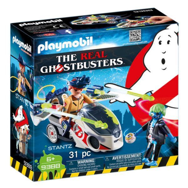 PLAYMOBIL GHOSTBUSTERS ΔΡ. ΣΤΑΝΤΖ ΜΕ SKYBIKE