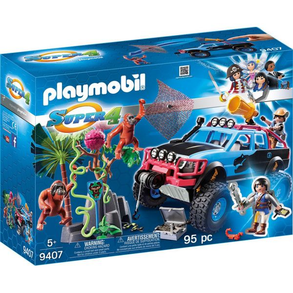 PLAYMOBIL SUPER 4 Ο ΑΛΕΞ ΜΕ ΤΟ MONSTER TRUCK