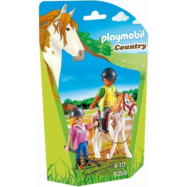 PLAYMOBIL COUNTRY ΠΡΟΠΟΝΗΤΡΙΑ & ΑΘΛΗΤΡΙΑ ΙΠΠΑΣΙΑΣ