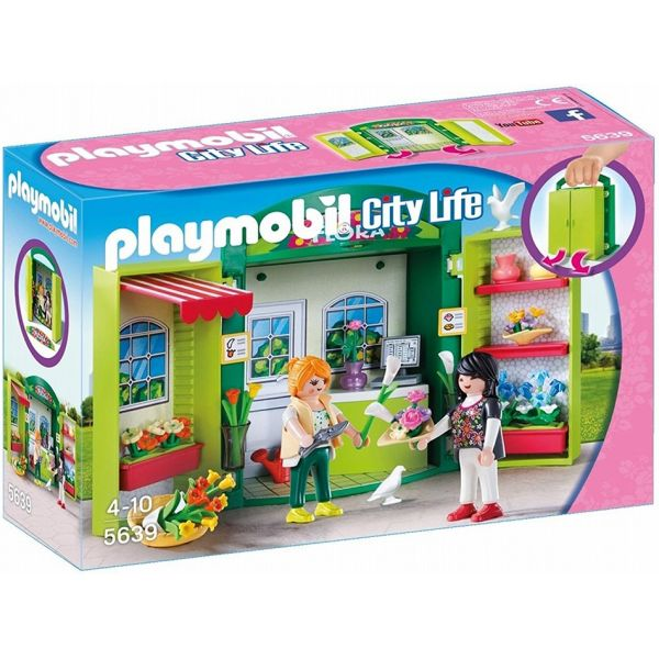 PLAYMOBIL CITY LIFE PLAY BOX ΑΝΘΟΠΩΛΕΙΟ